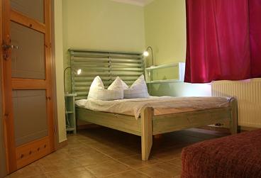 sypialnia apartament 1-pokojowy