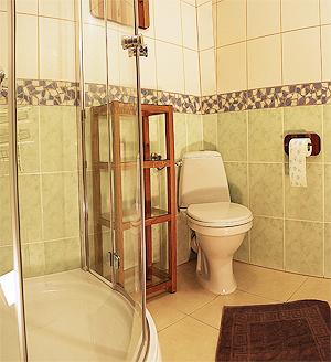 apartament 1-pokojowy łazienka