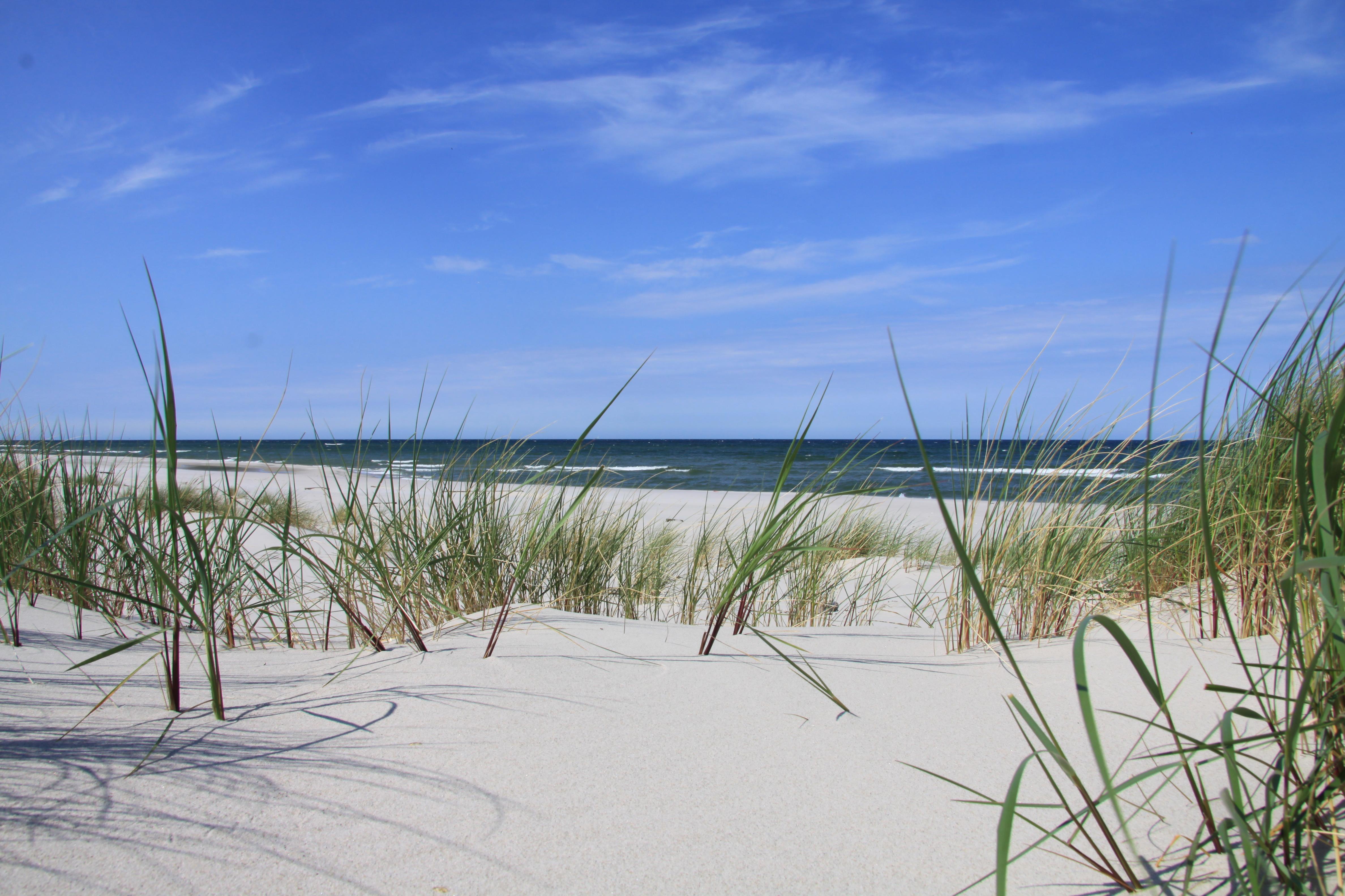 Złote plaże w Polsce